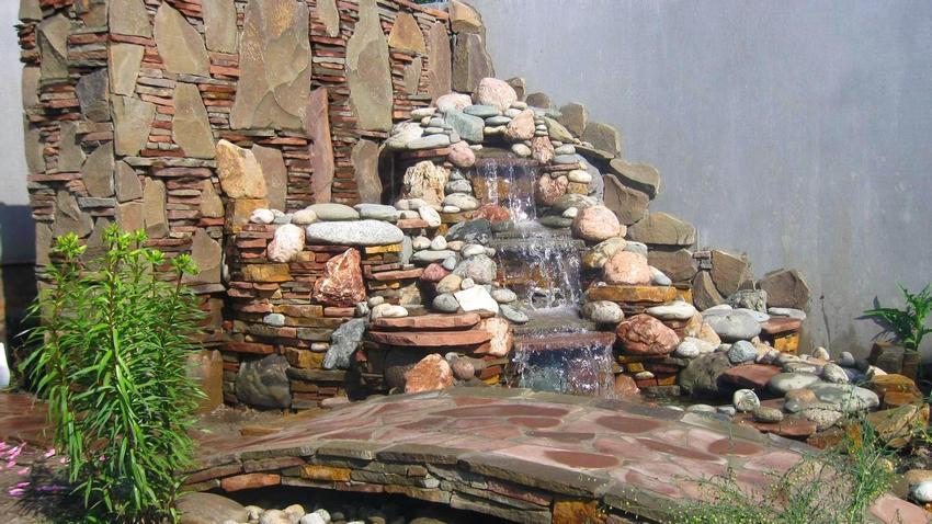 фото искусственные водопады
